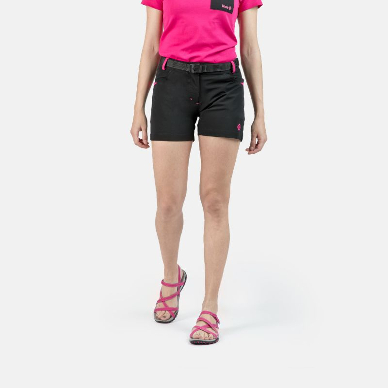 WOMAN SHORT PANTS TREKKING KEA II BLACK
