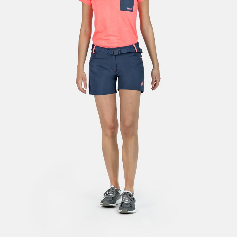 WOMAN SHORT PANTS TREKKING KEA II BLUE