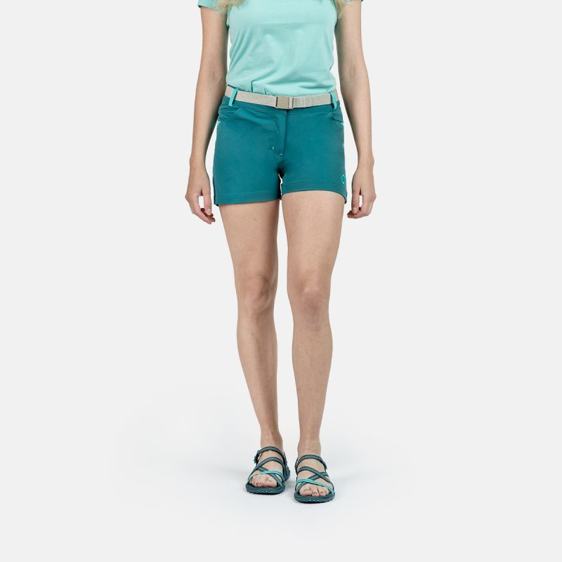 WOMAN SHORT PANTS TREKKING KEA II GREEN