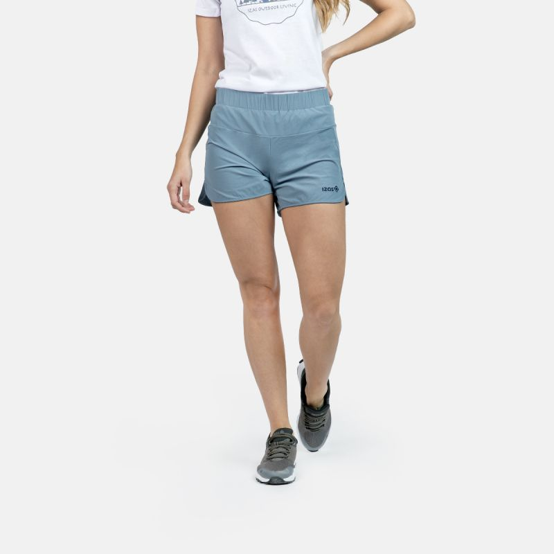 WOMAN RUNNING SHORT PANTS RAINHA BLUE
