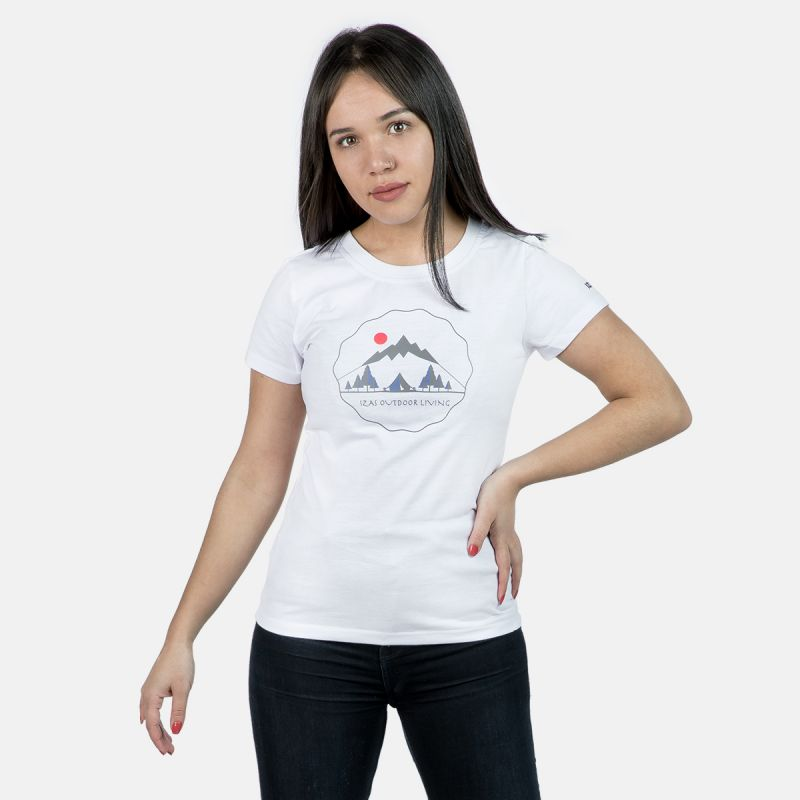 WOMAN T-SHIRT BOLONIA WHITE