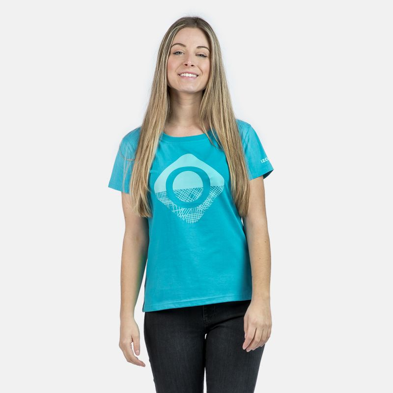 WOMAN T-SHIRT CAROLINA TURQUOISE