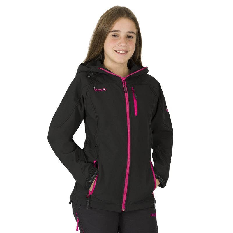 TAHOE KIDS-BLACK-FUXIA-1