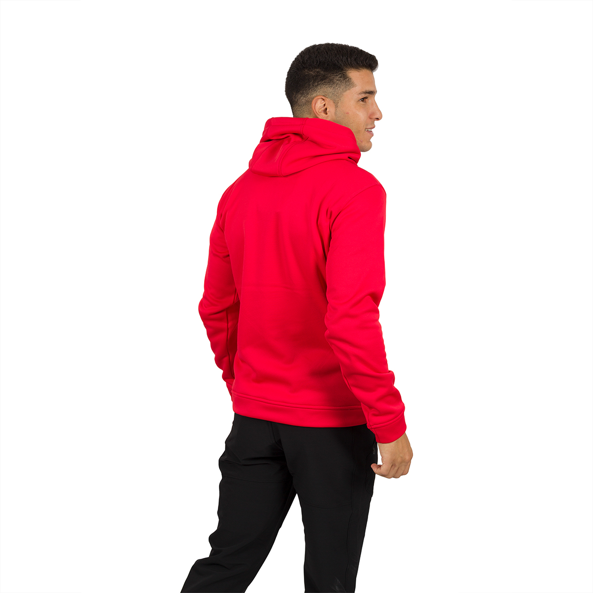 MAN'S DUERO HOODED PULLOVER RED