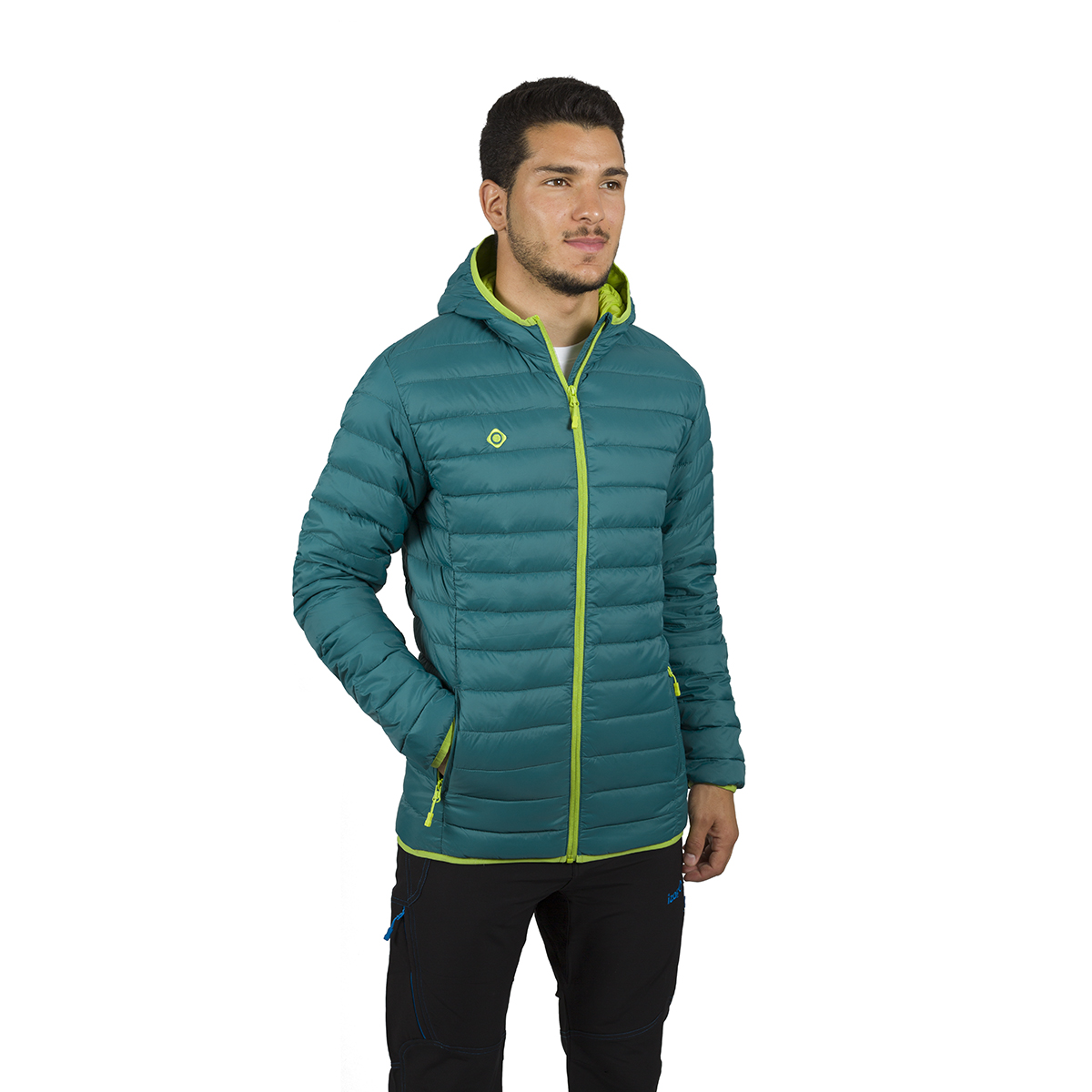 MAN'S FLORENZ DOWN JACKET WITH HOOD BLUE