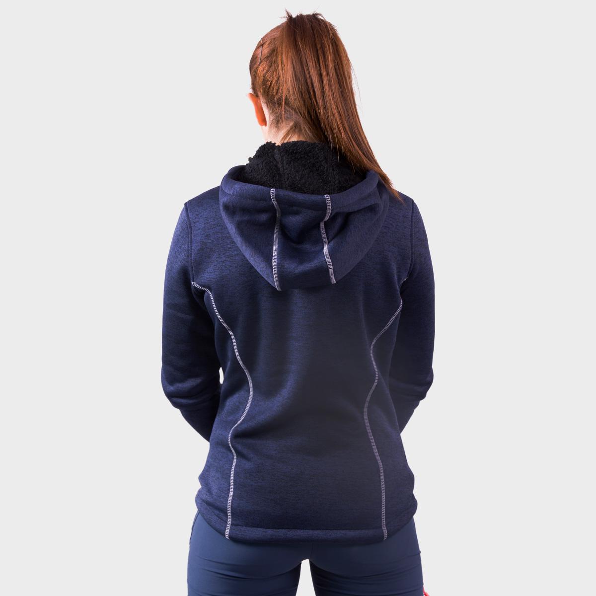 WOMAN'S GUARA LOOK WOOL JACKET BLUE