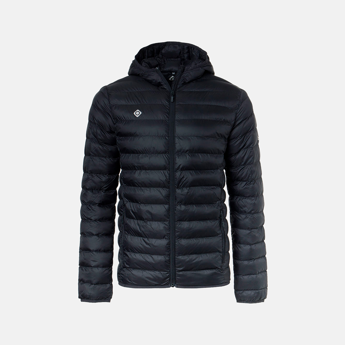 MAN'S FLORENZ DOWN JACKET WITH HOOD BLACK