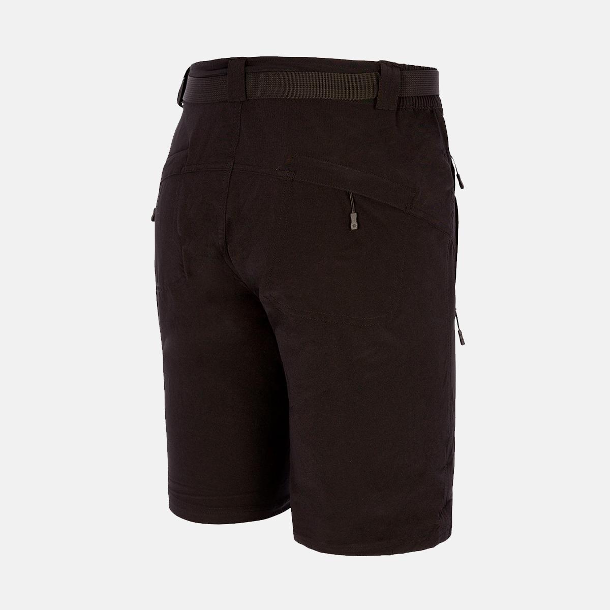 MAN'S BEAR STRETCH SHORT PANT BLACK