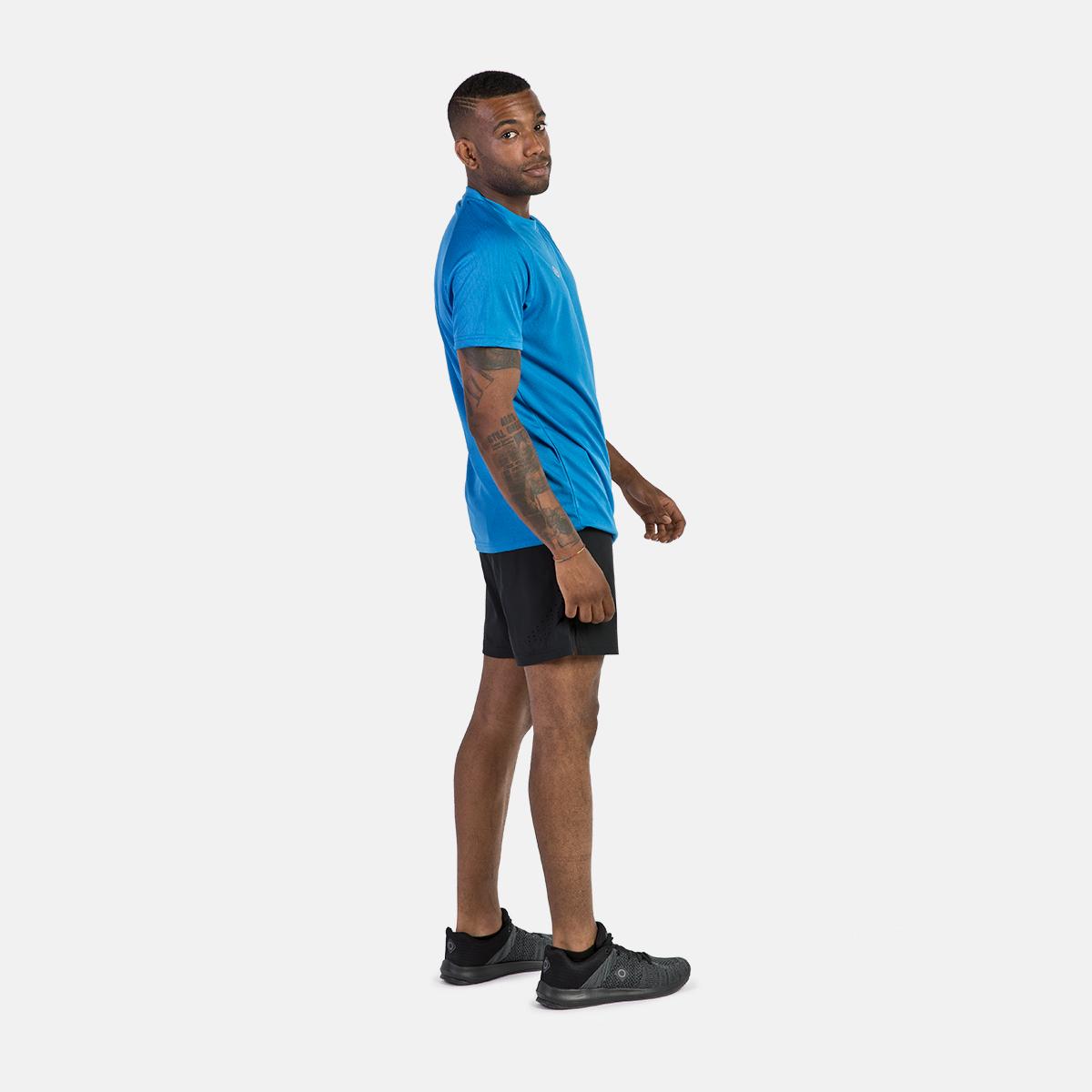 MAN'S RAVIER SHORT RUNNING PANT BLACK