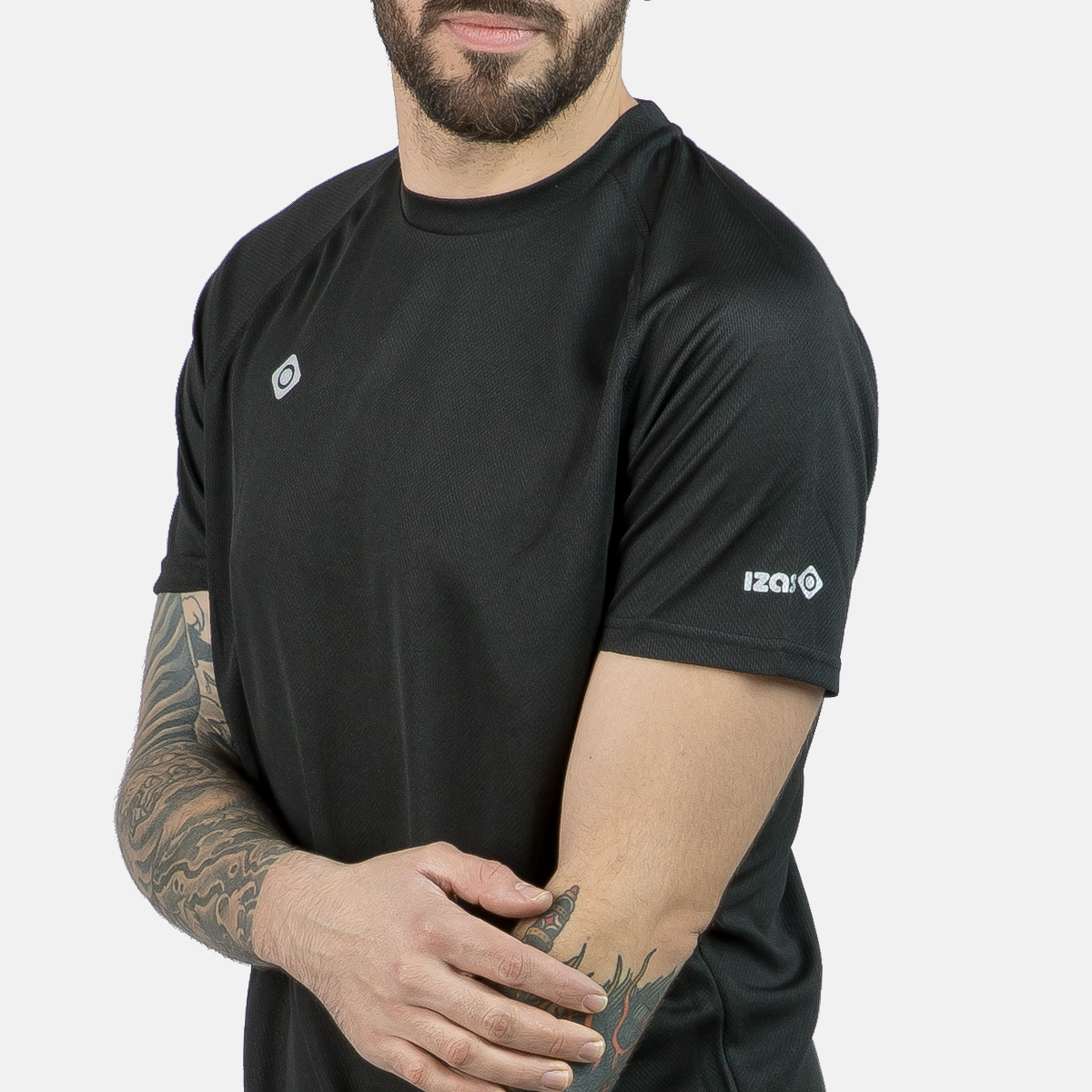 MAN'S CREUS II T-SHIRT BLACK