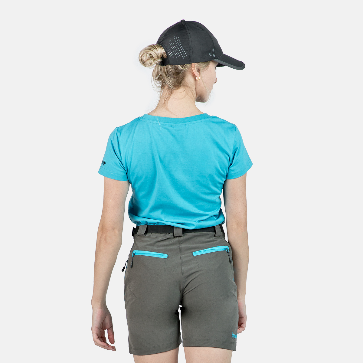 WOMAN T-SHIRT BOLONIA TURQUOISE