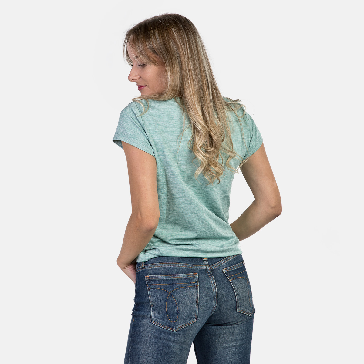 WOMAN'S ARIA T-SHIRT GREEN