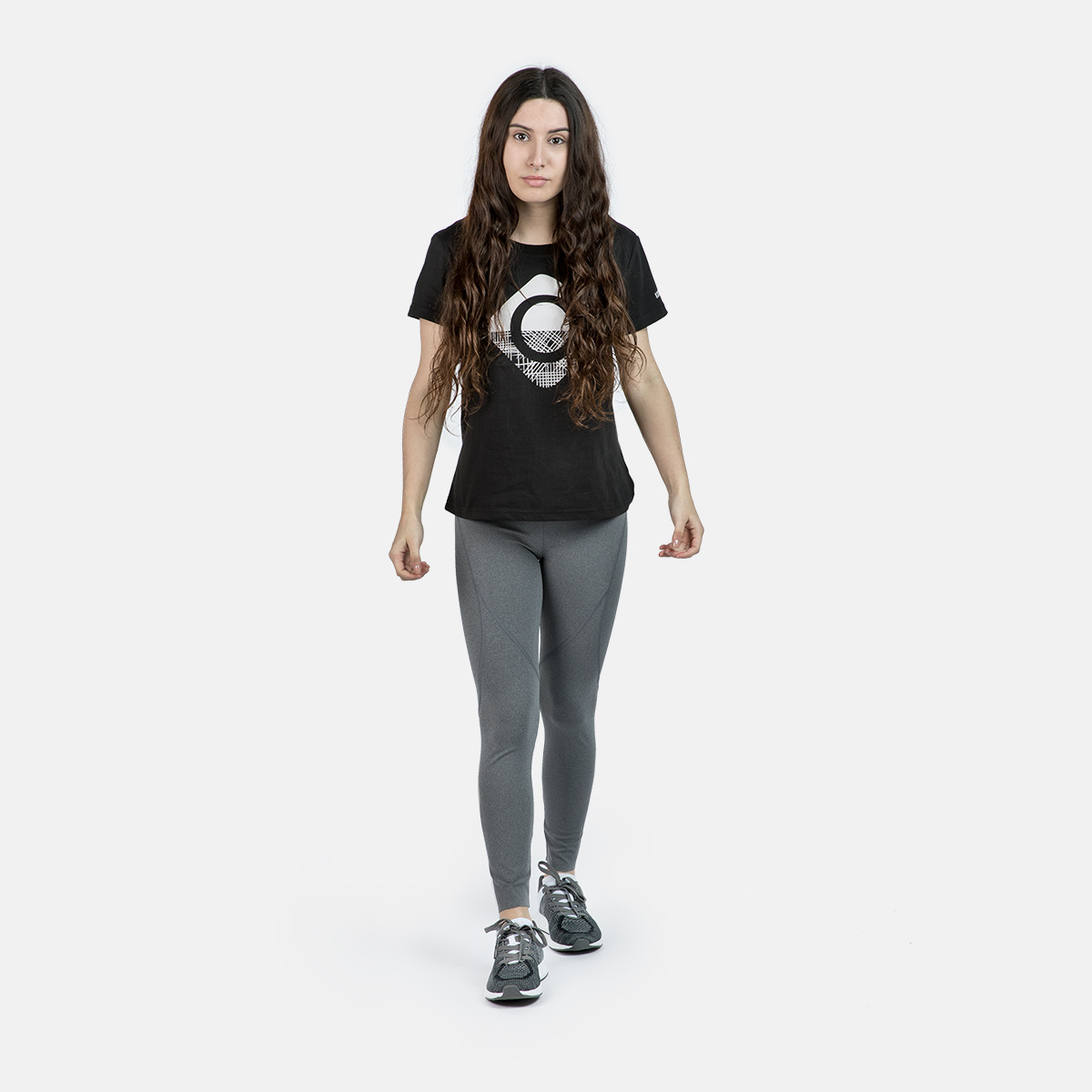 WOMAN T-SHIRT CAROLINA BLACK