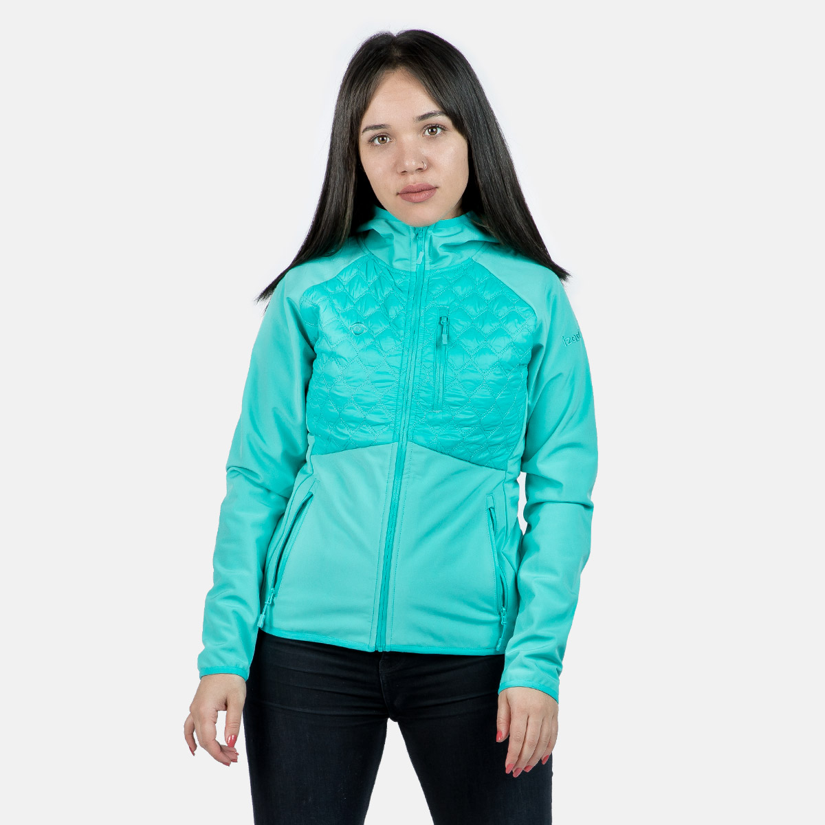WOMAN'S BARAY SOFT SHELL+PADDED GREEN