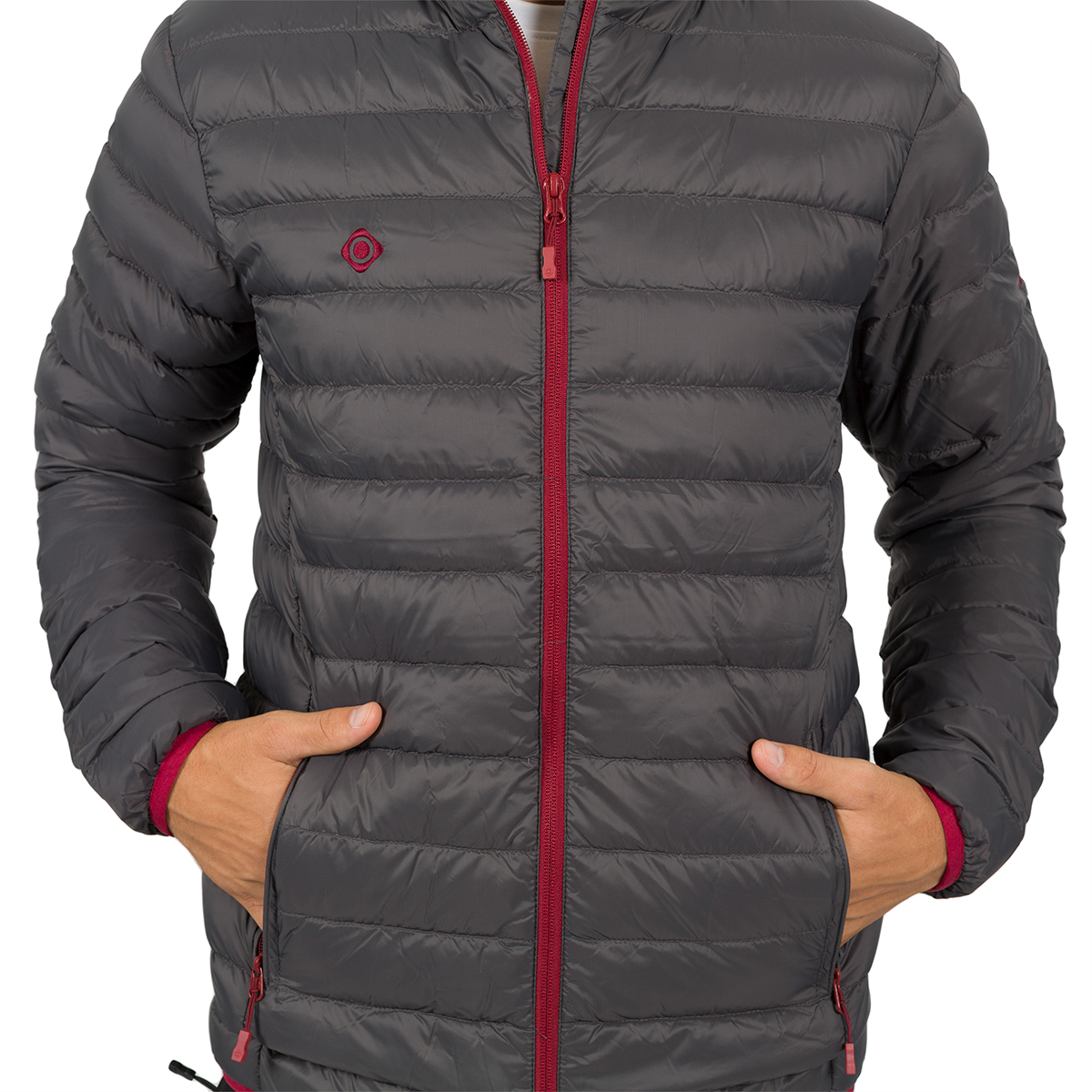 MAN'S KIEL DOWN JACKET GREY