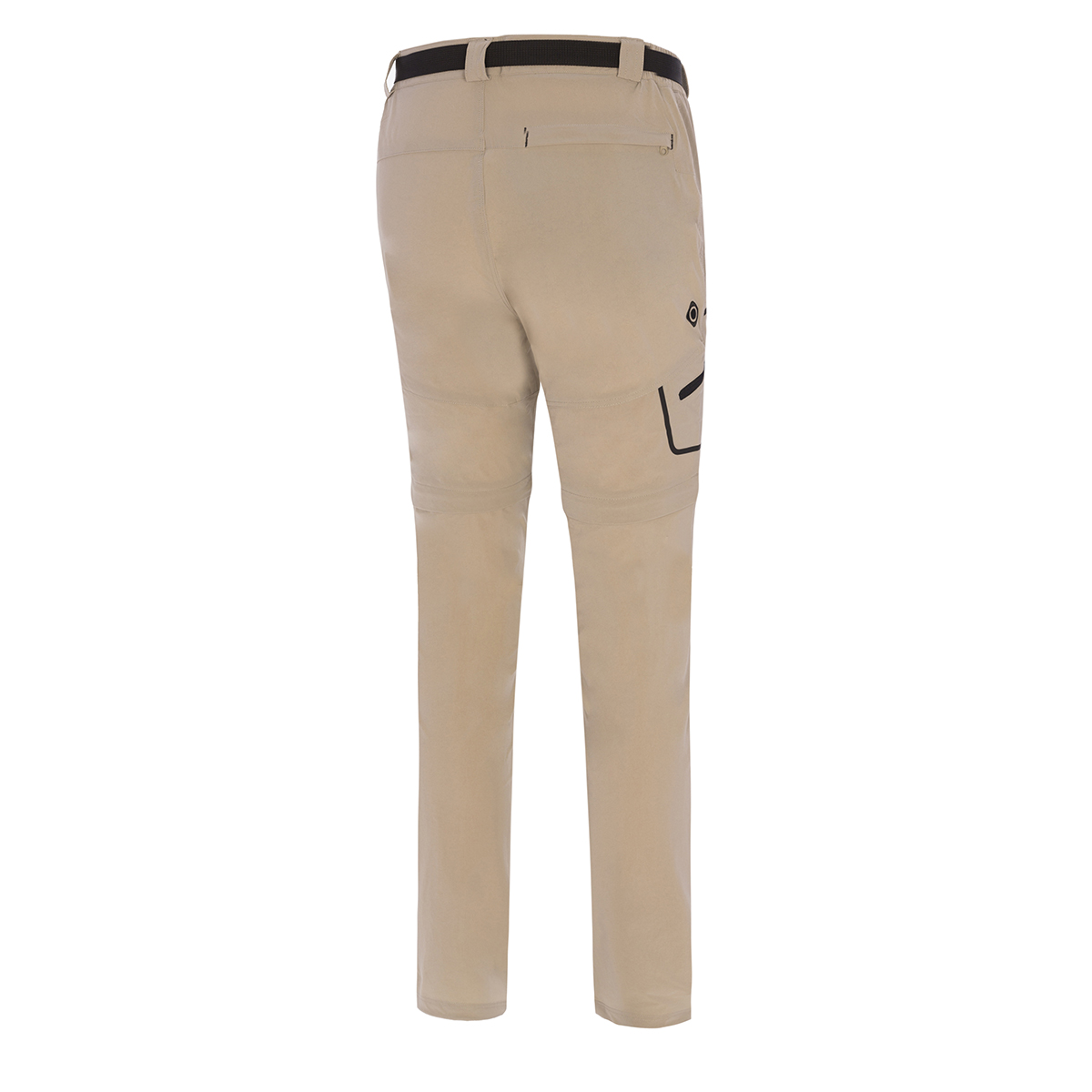 MAN'S KOBUK STRETCH PANT, DETACHABLE BEIGE