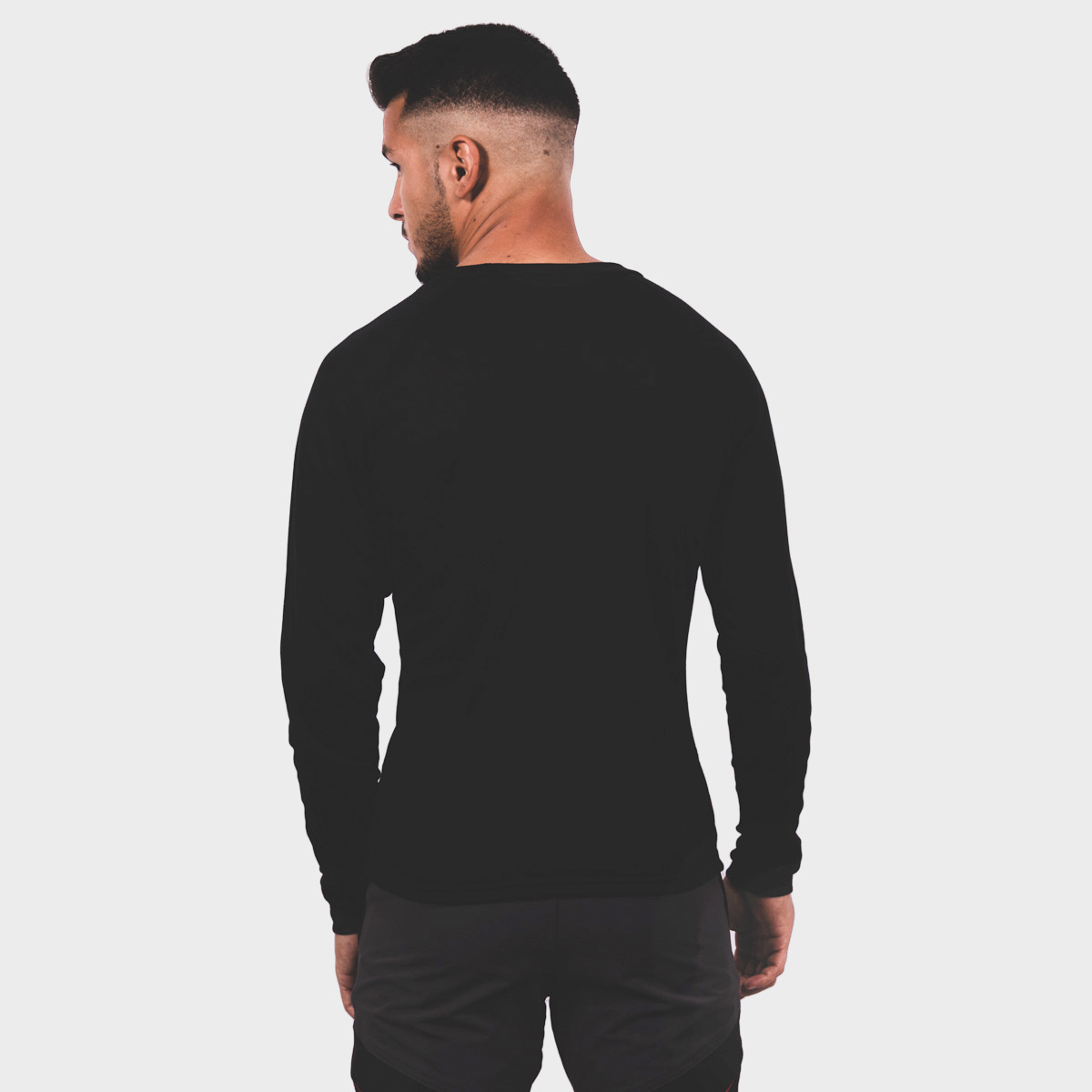 MAN'S NELION THERMAL T-SHIRT BLACK
