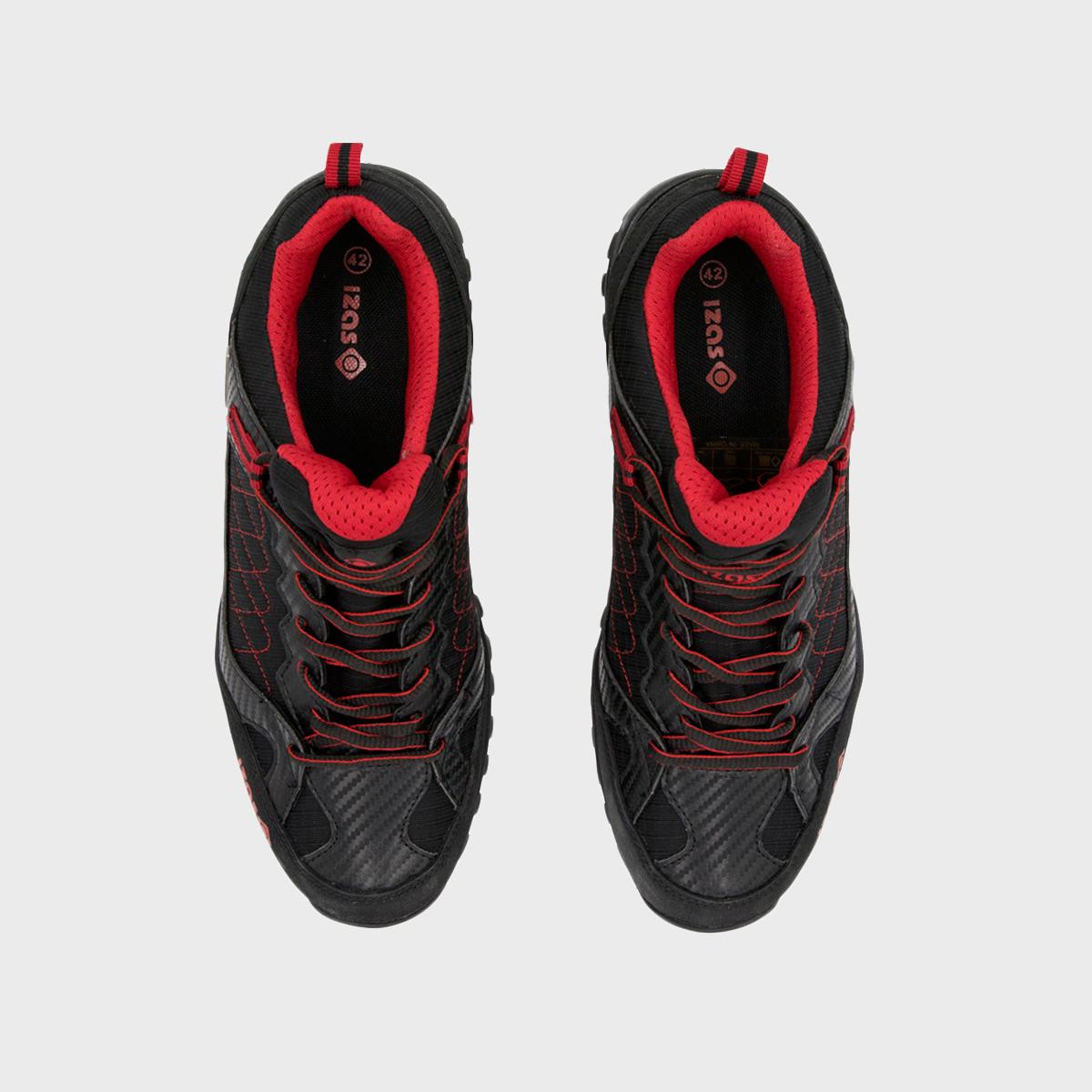 NILSEN BLACK/RED UNISEX