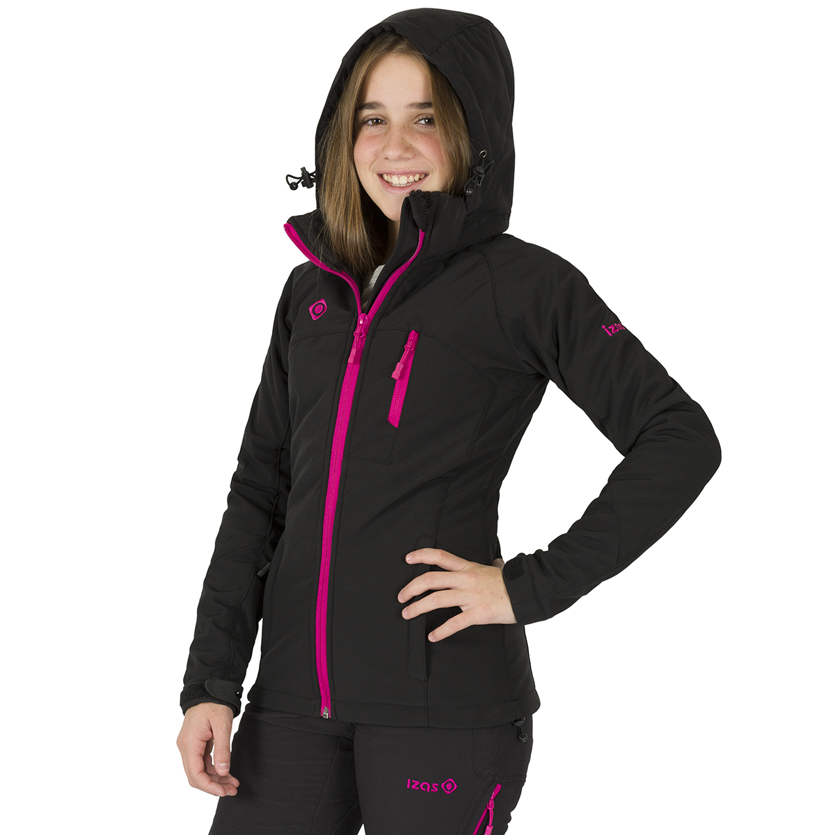 OSHAWA KIDS SOFT SHELL BLACK