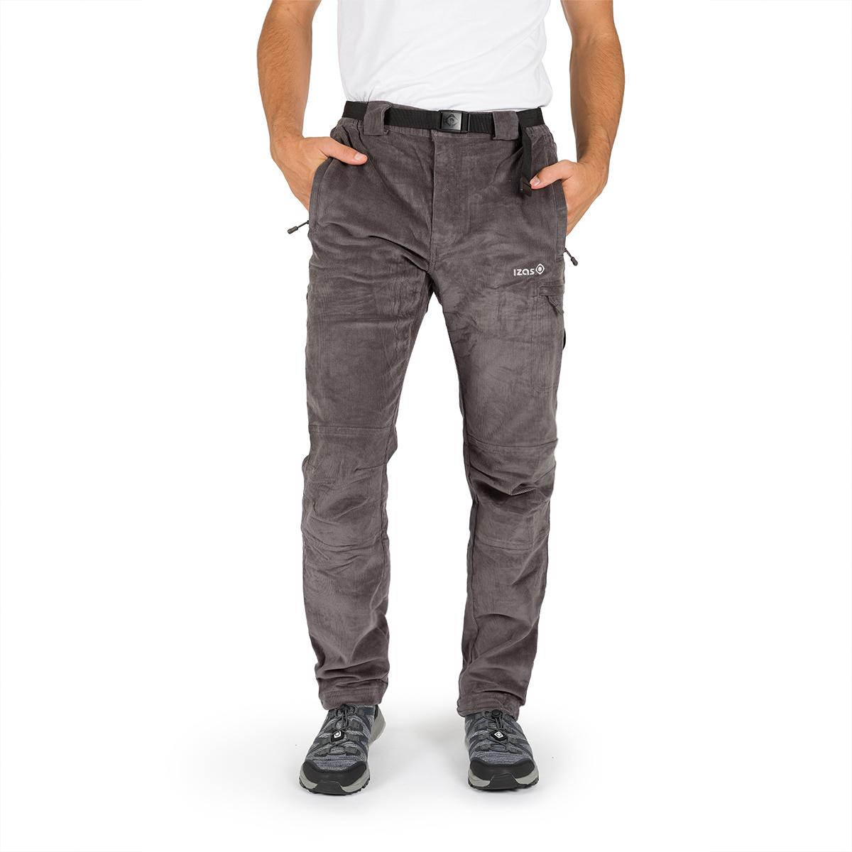 MAN'S GSTAAD STRETCH PANT (CORDUROY) GREY