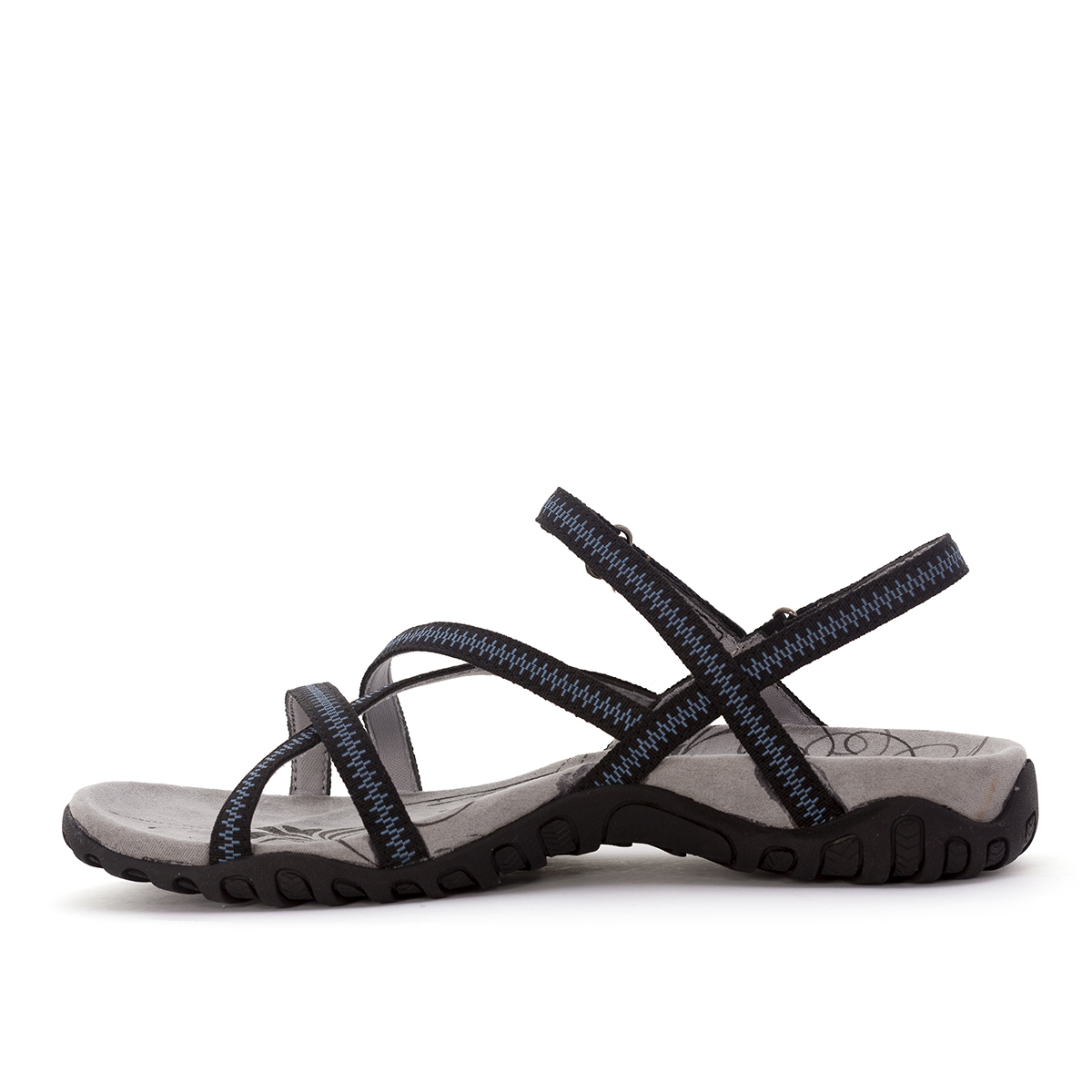 WOMAN'S TENA SANDALS BLACK