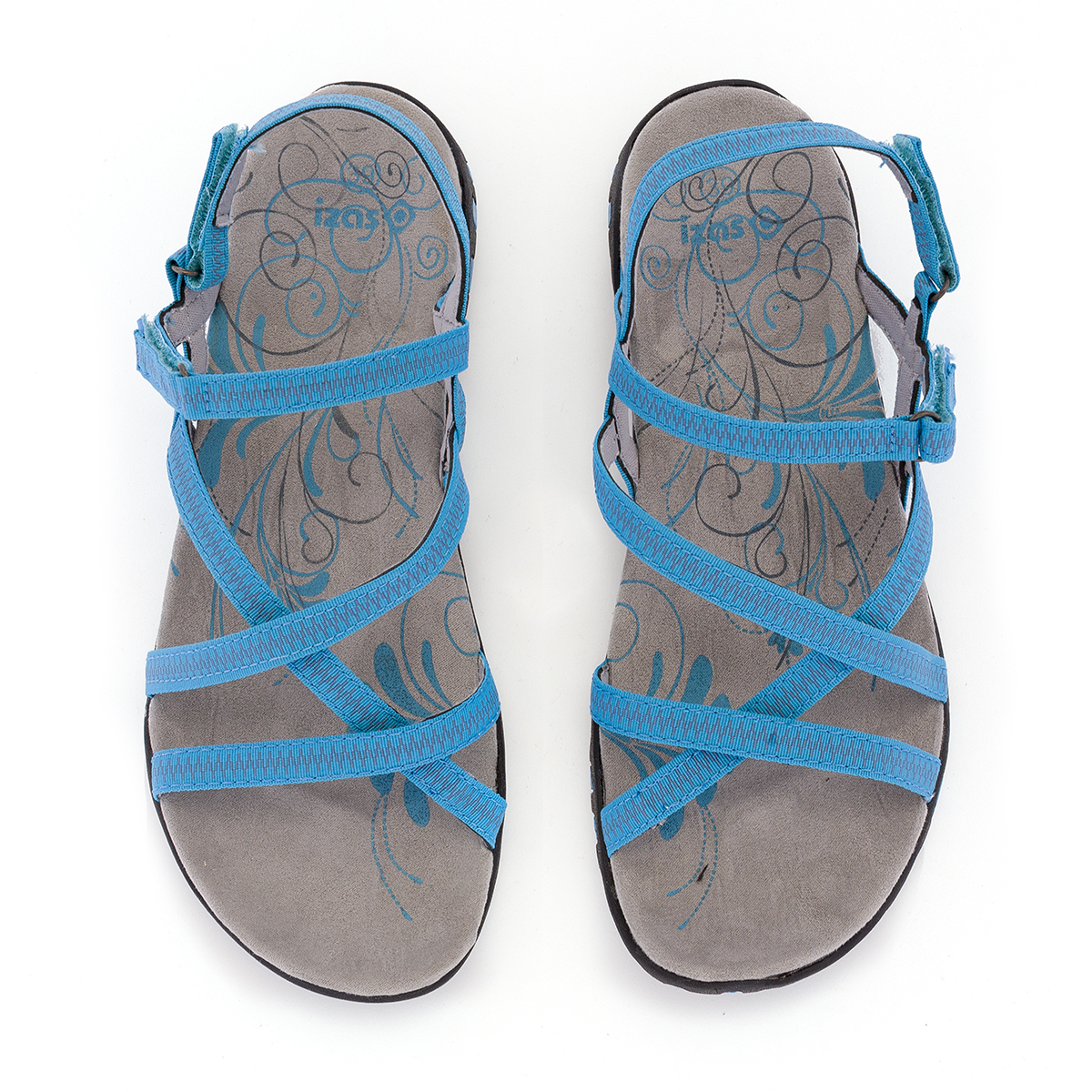WOMAN'S TENA SANDALS TURQUOISE